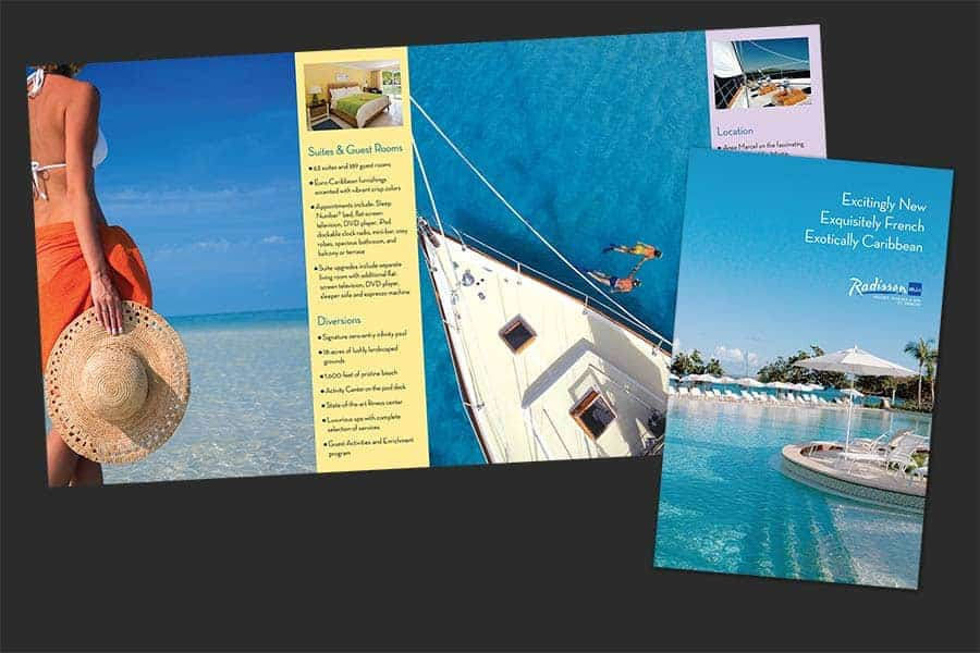 Radisson Blu St. Martin Resort Brochure