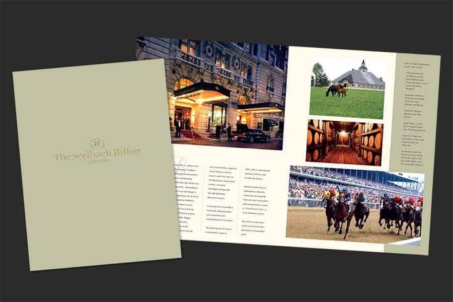 The Seelbach Hilton Louisville Brochure