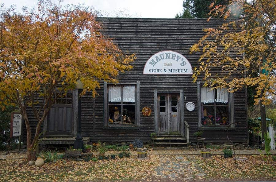 Gold Hill, North Carolina, Antiques
