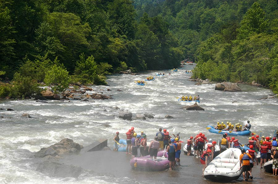 Whitewater Rafting on the Ocoee River