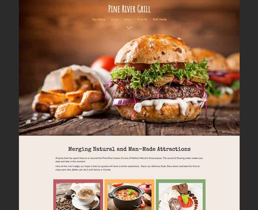 Demo Website - Restaurants, Grills