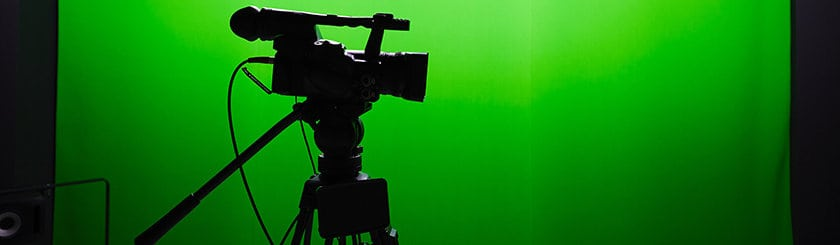 Digital Video Camera and Green Screen