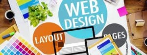 Web Design and Layout Artwork