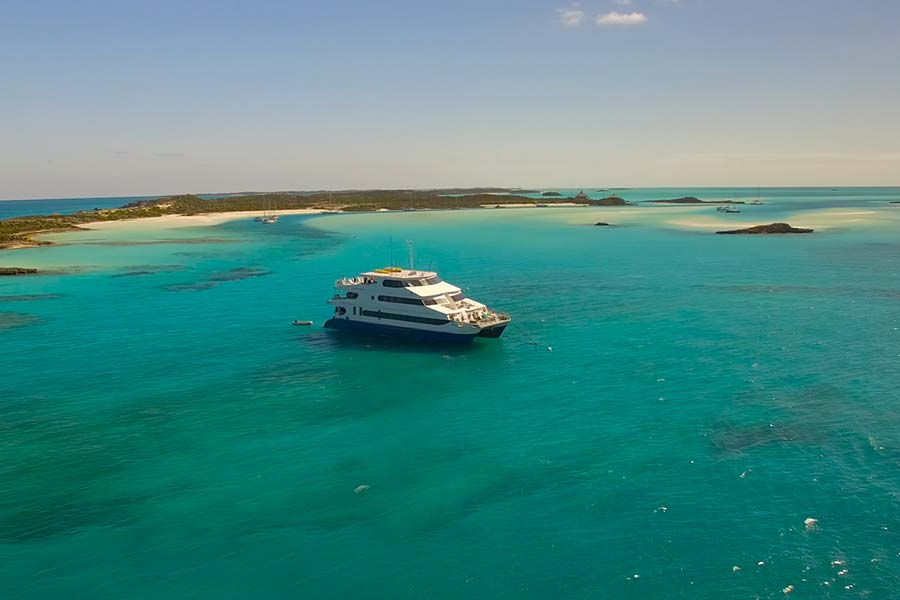 All Star Liveaboards Aqua Cat Vessel in the Bahamas