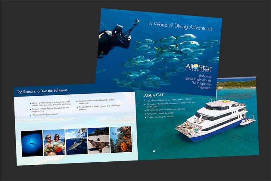All Star Liveaboards Brand Brochure