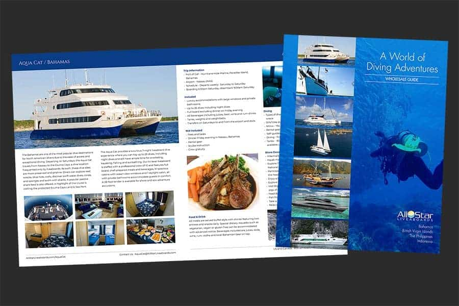 All Star Liveaboards Wholesale Brochure