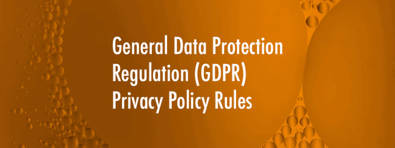 Privacy Policy Updates Tied to GDPR